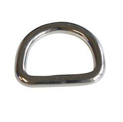 RVS D-ringen gelast E308