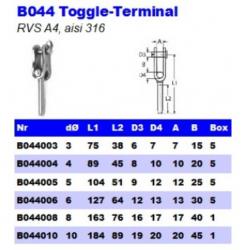 RVS Toggle-Terminals B044