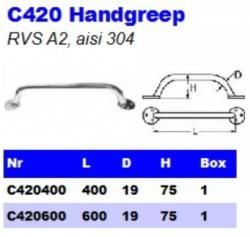 RVS Handgrepen C420