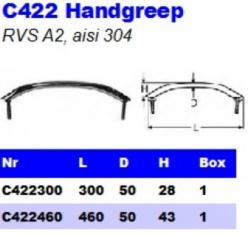 RVS Handgrepen C422