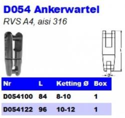 RVS Ankerwartels D054