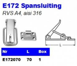 RVS Spansluitingen E172