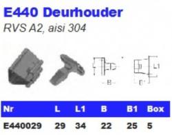 RVS Deurhouders E440