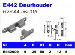 RVS Deurhouders E442