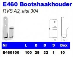 RVS Bootshaakhouders E460
