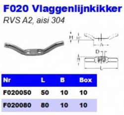 RVS Vlaggenlijnkikkers F020