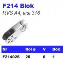 RVS Blokken F214