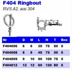 RVS Ringbouten F404