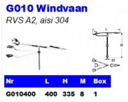 RVS Windvanen G010