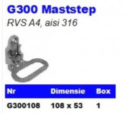 RVS Maststep G300