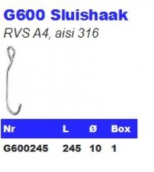 RVS Sluishaken G600