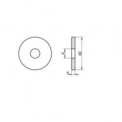 RVS Sluitringen voor houtverbindingen DIN 1052