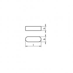 RVS Inlegspieën DIN 6885