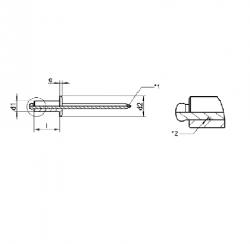 RVS Blindklinknagels met verzonken kop ISO 15984