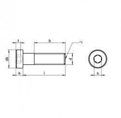 RVS Lage Cilinderkopbouten DIN 7984