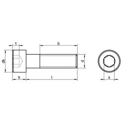 RVS Inbusbouten cilinderkop DIN 912