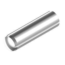 RVS Cilindrische kerfpennen DIN 1473 / ISO 8740
