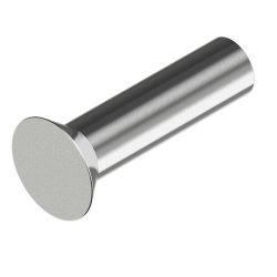 Klinknagels met een platte kop DIN 661