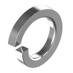 RVS Veerringen voor Cilinderkopbouten DIN7980